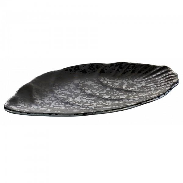 Tablett - Melamin - schwarz - Serie Glamour - APS 84380