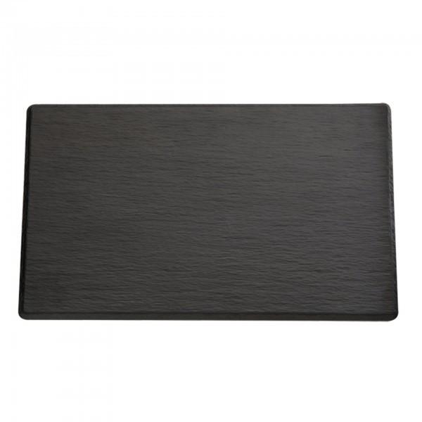 GN-Tablett - Melamin - schwarz - Serie Slate - APS 83971