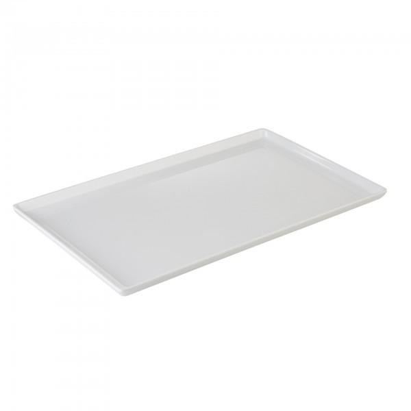 GN-Tablett - Melamin - weiß - rechteckig - Serie Float - APS 83923