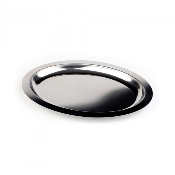 Tablett - Edelstahl - oval - Serie Finesse - APS 01322