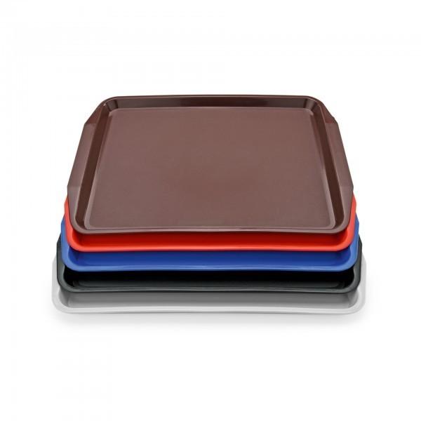 Tablett - Polypropylen - versch. Farben - mit Lappengriffen