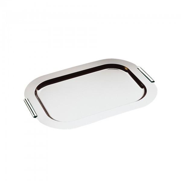 Tablett - Edelstahl - rechteckig - Serie Finesse - APS 01712