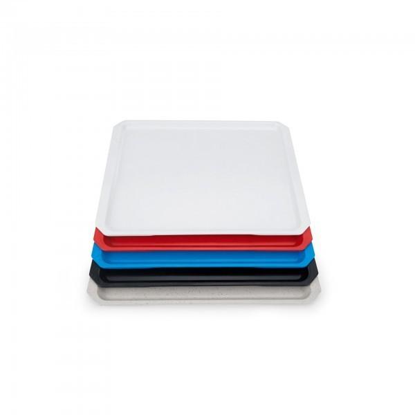 Systemtablett - Serie 9605 - Polyester - versch. Farben - Stapelnocken