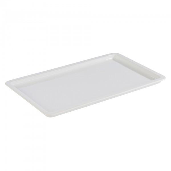 GN-Tablett - Porzellan - weiß - APS 82201