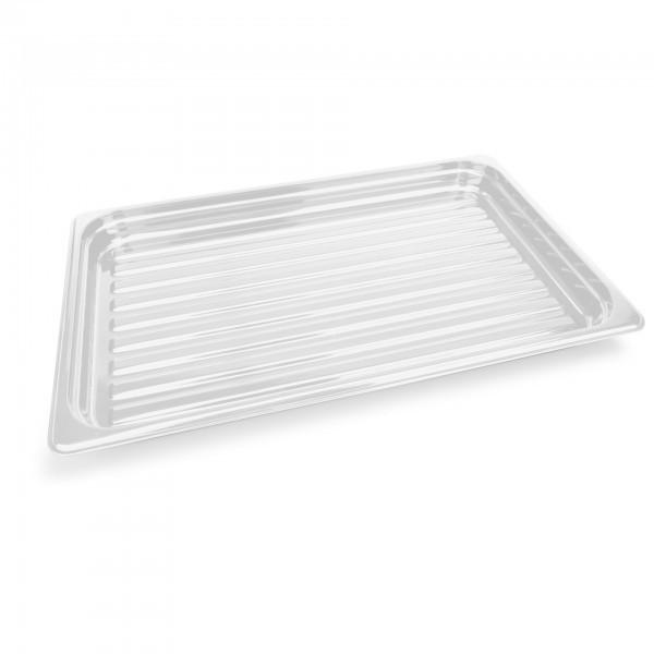 GN-Auslagetablett - Polycarbonat - weiß