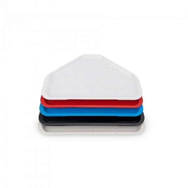 Trapeztablett - Serie 9605 - Polyester - versch. Farben - Stapelnocken