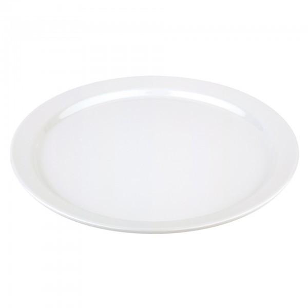 Tablett / Teller - Melamin - weiß - rund - Serie Pure - APS 83884