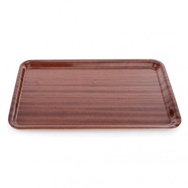 Tablett - Serie 9000 - Pressholz - rechteckig - rutschhemmende Oberfläche - 9020.450