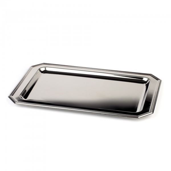 Tablett - Edelstahl - rechteckig - Serie Elegance - APS 02310