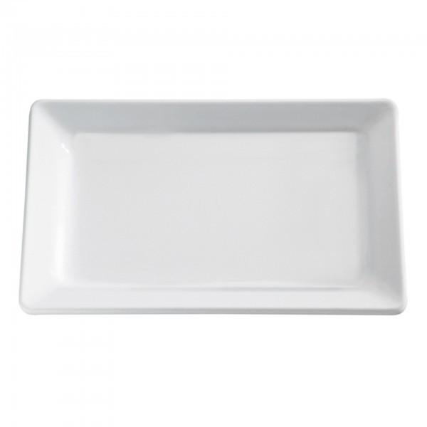 Tablett - Melamin - weiß - rechteckig - Serie Pure - APS 83882