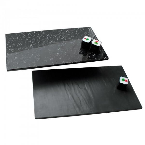 GN-Buffetplatte - Melamin - Schiefer- und Granitoptik - premium Qualität