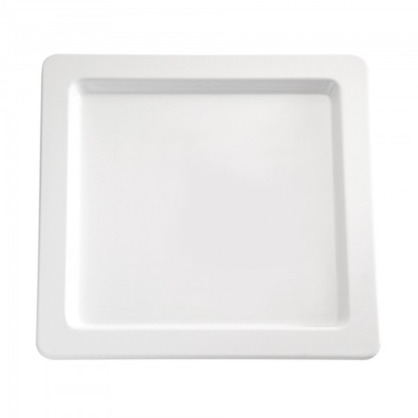 Tablett - Melamin - weiß - quadratisch - Serie Apart - 83834